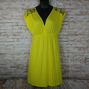 Pinc yellow casual 2XL sun dress
